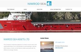 Nimrod Sea Assets - Marine website design by Toolkit Websites, professional web designers