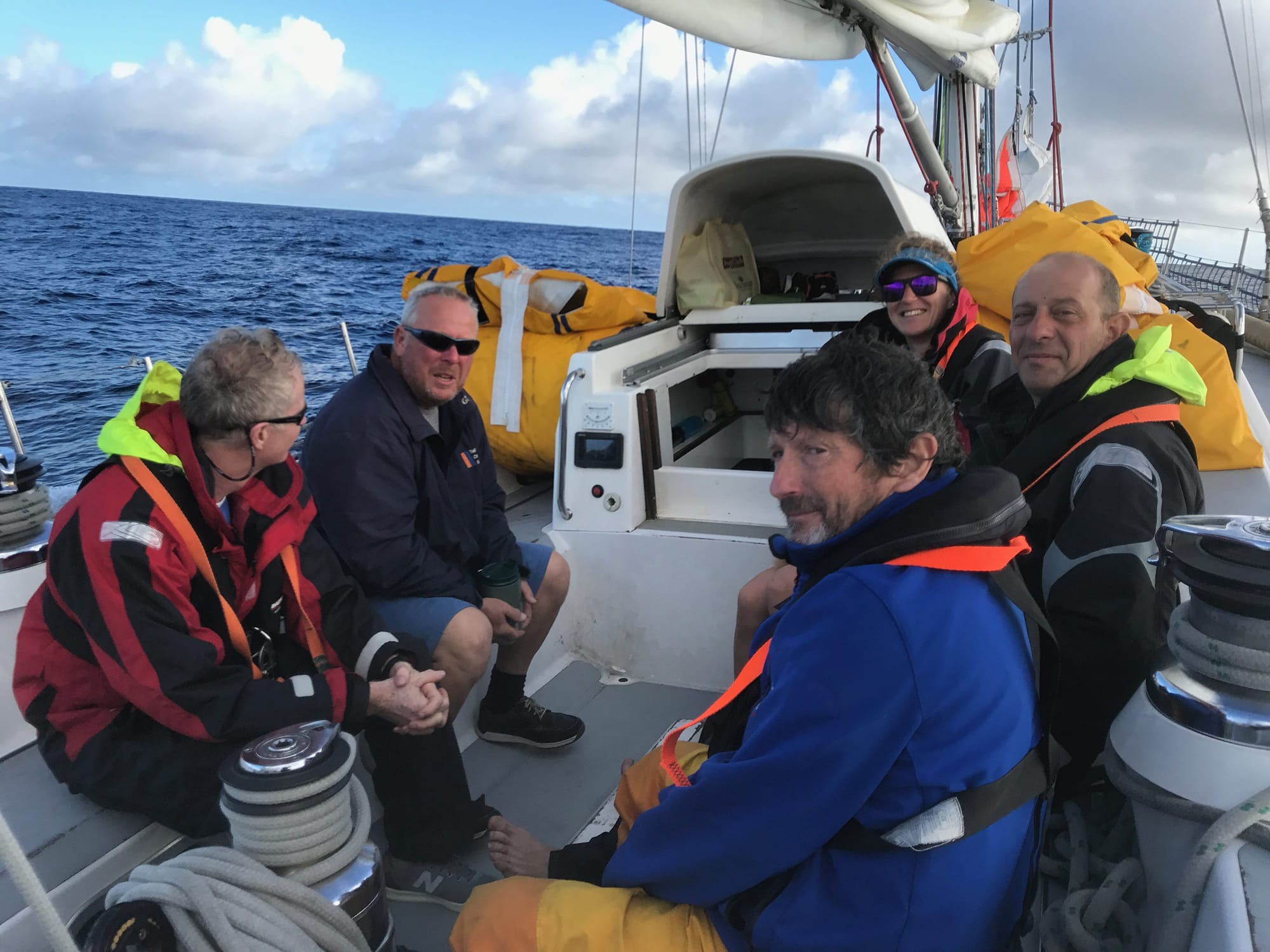 Atlantic crew sailing