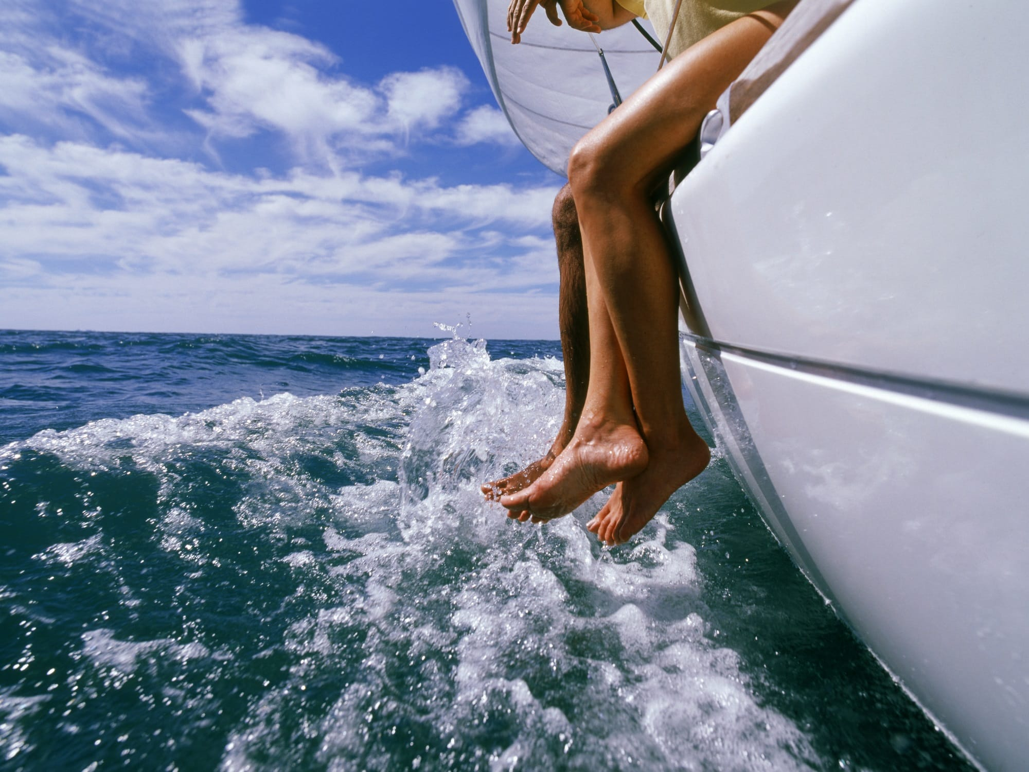 Bareboat Charter Dangling Feet