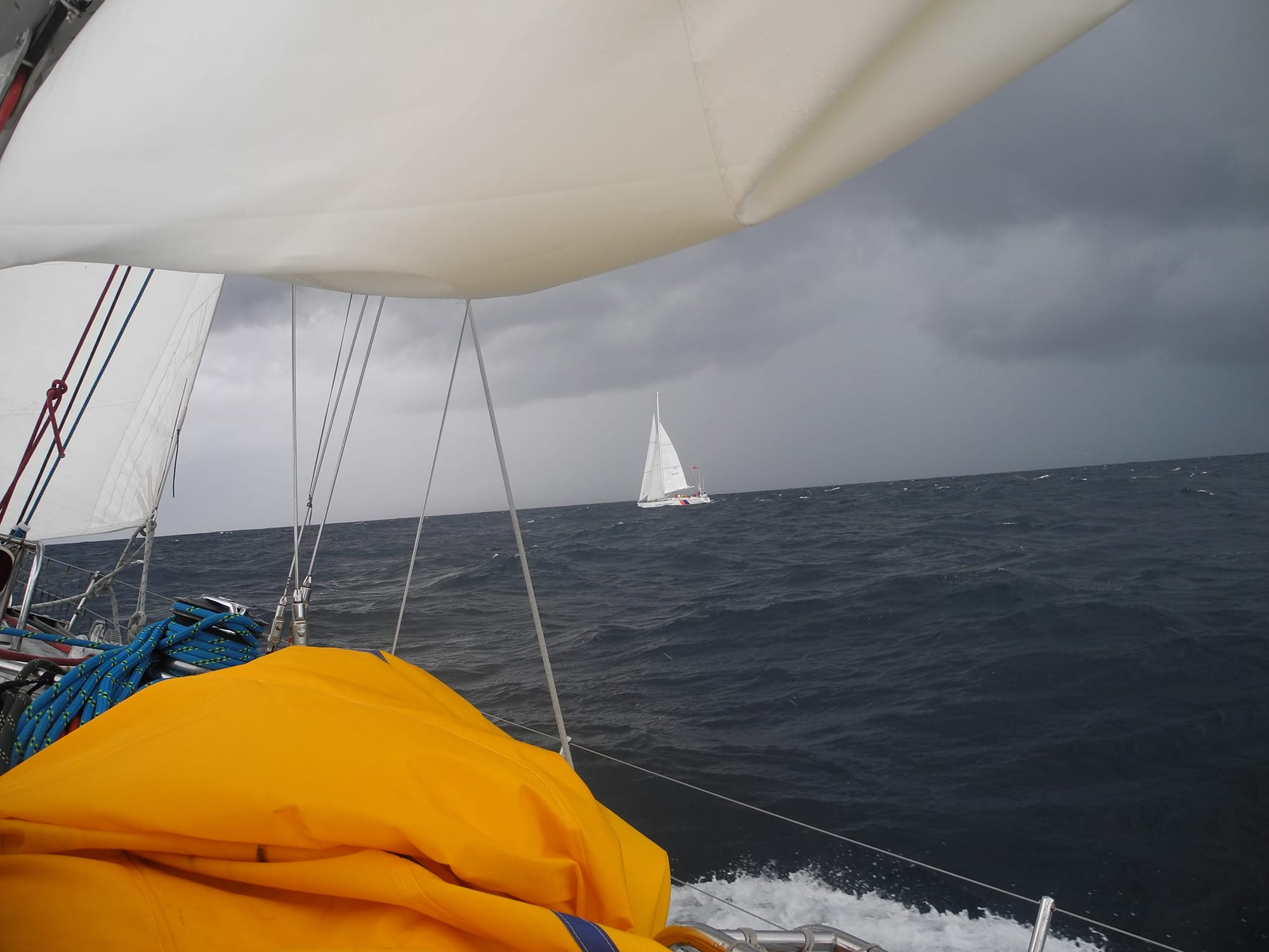 Biscay sailing