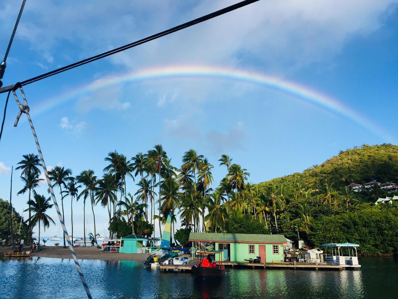 Caribbean-sailing