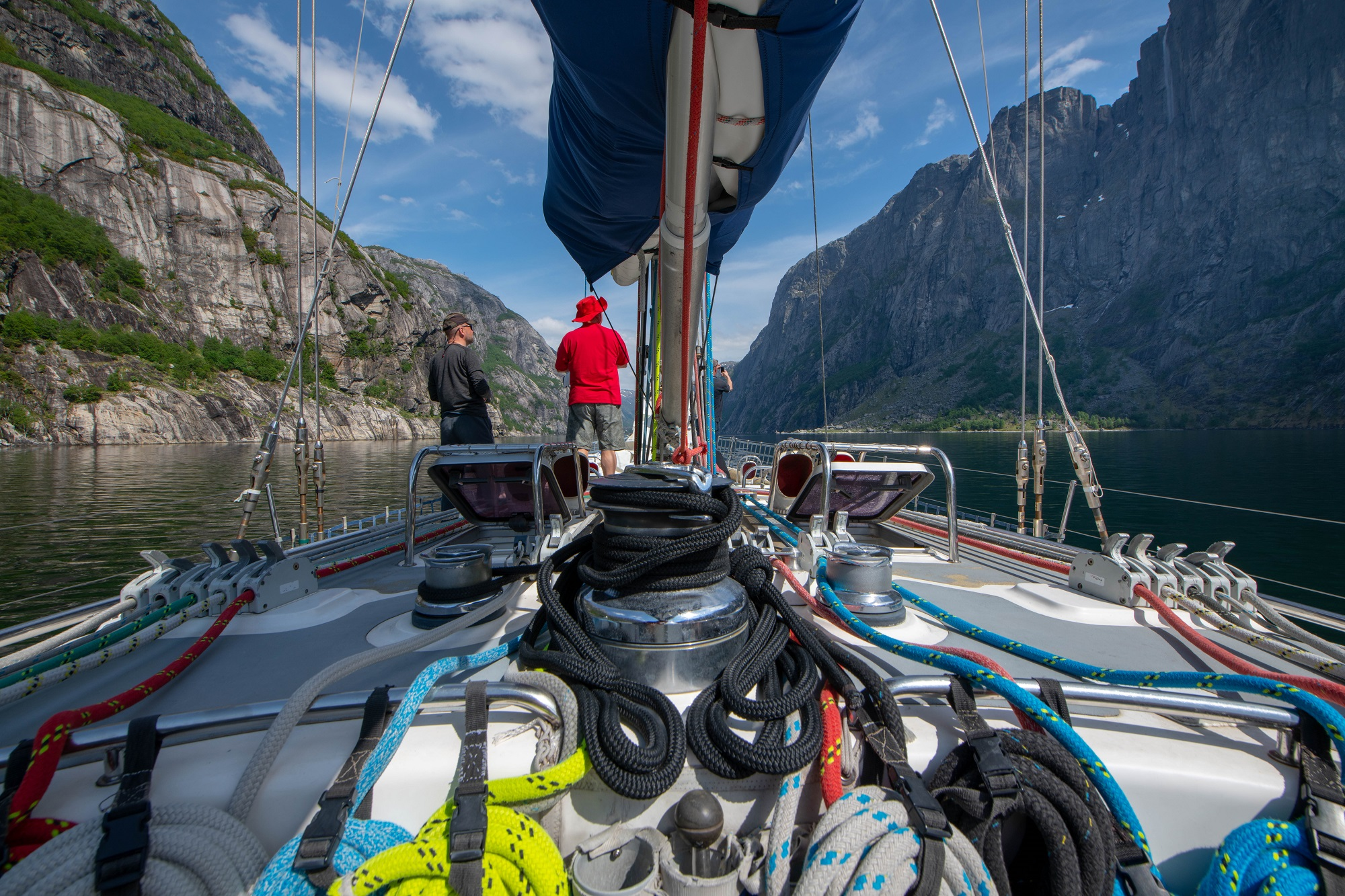 Norway sailing adventure
