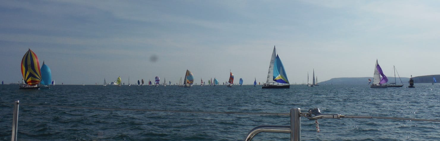 Round the Island Race Spinnakers