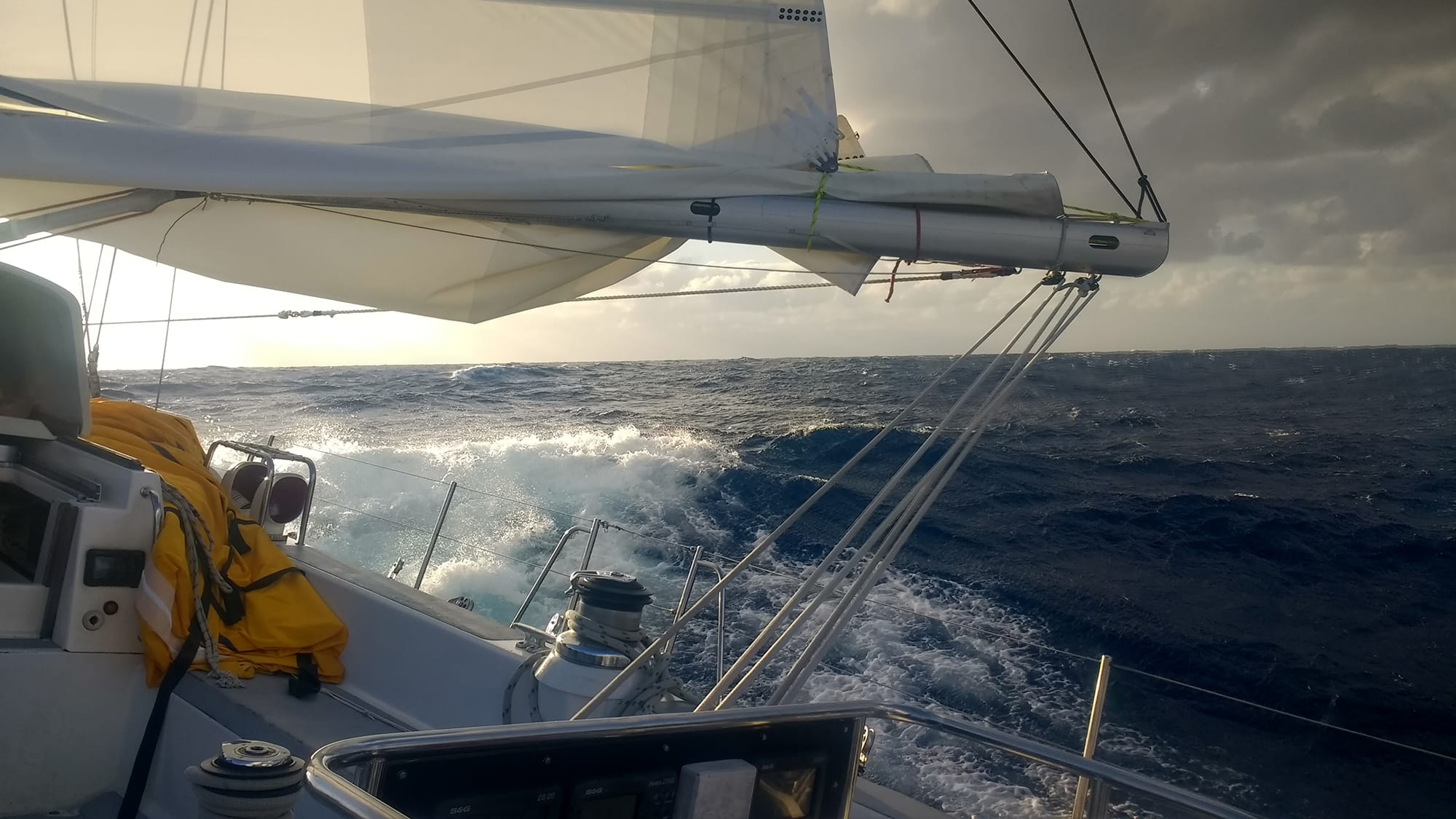 Sailing Biscay