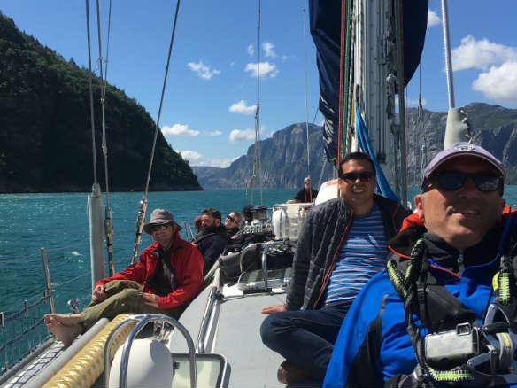 Sailing Norwegian Fjords