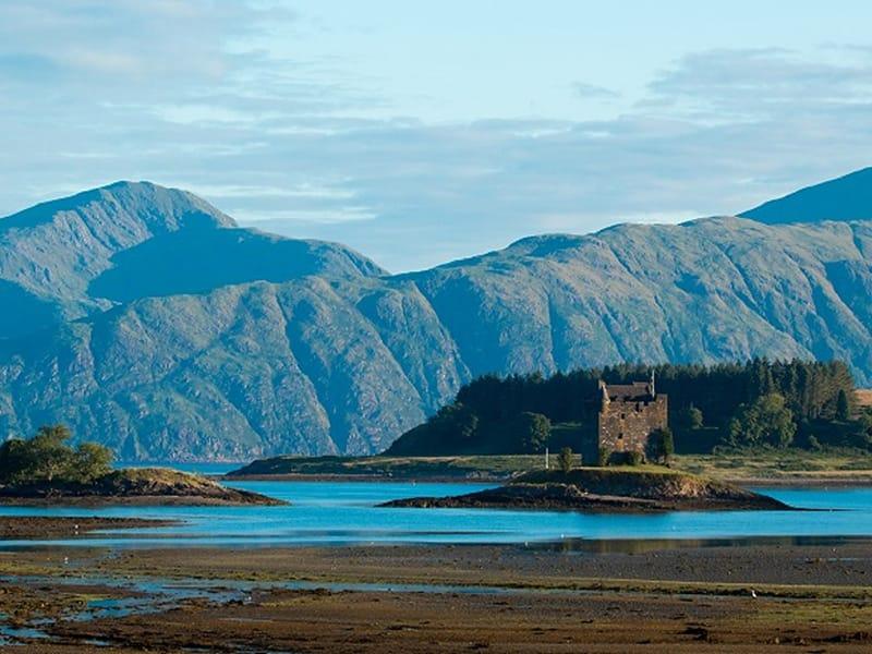 Sailing Scotland West Coast Oban Castle Stalker