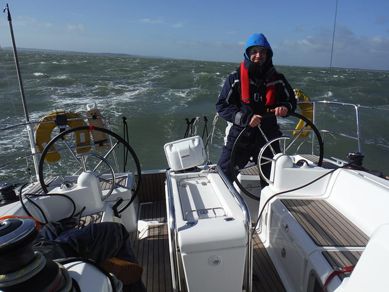 Sailing across English Channel