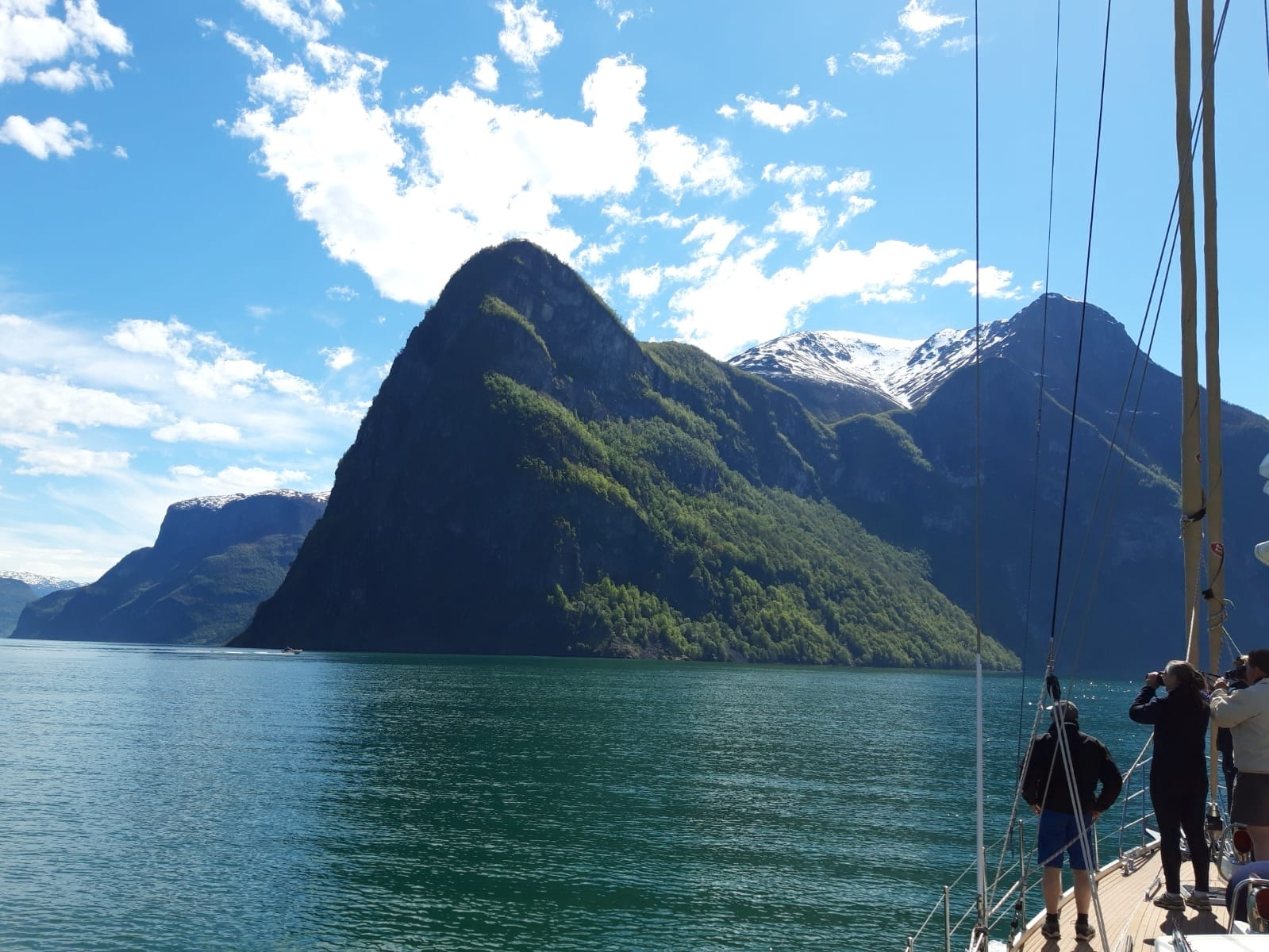 Sailing in Norwegian Fjords