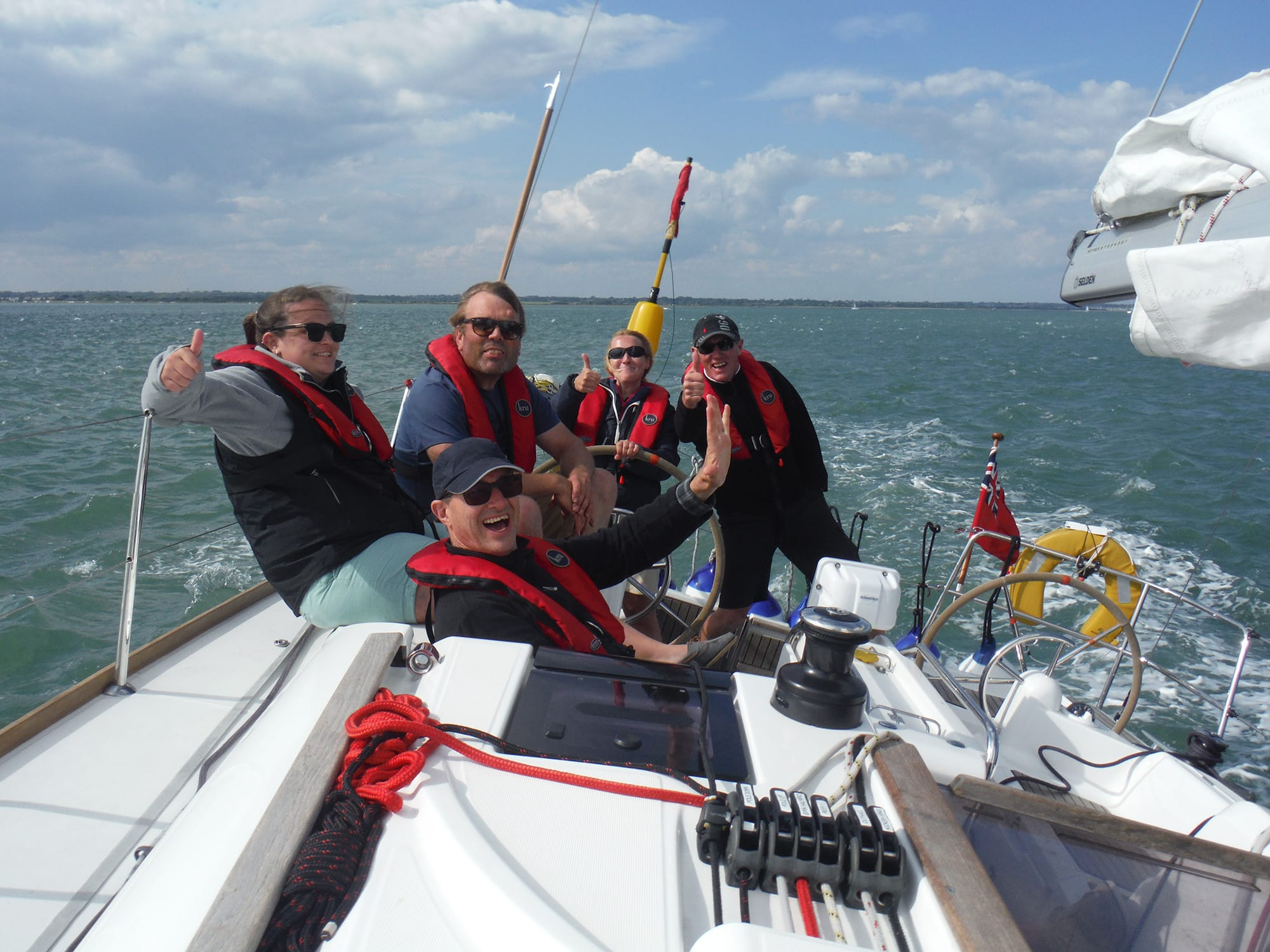 Skippered Solent Yacht Charter