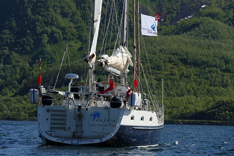 Sailing Norway