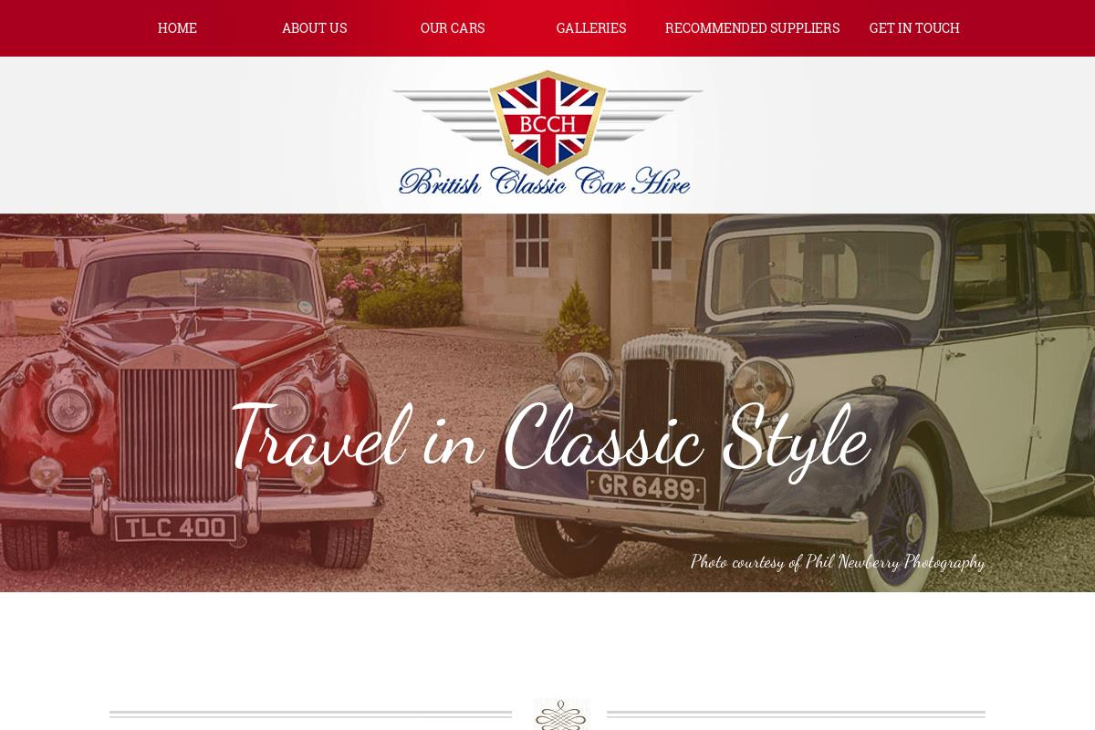 Welcome To British Classic Car Hire : British Classic Car Hire