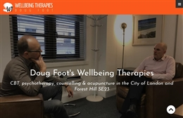 Website design case study for Wellbeing Therapies London