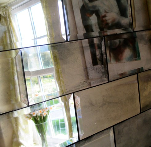 Metro Tiles : Antiqued Mirror
