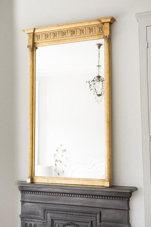 New York Fern Mirror www.antiquedmirror.com