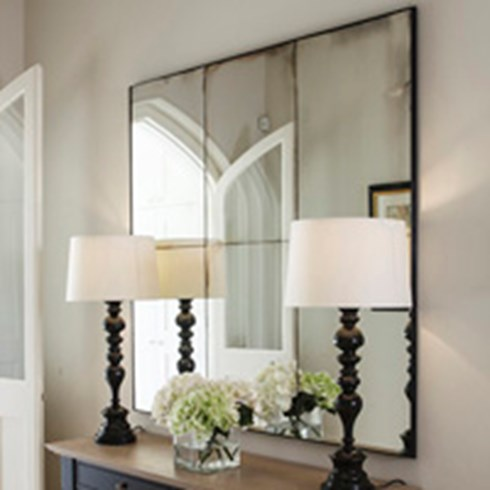 Panneled and Framed Mirrors : Antiqued Mirror