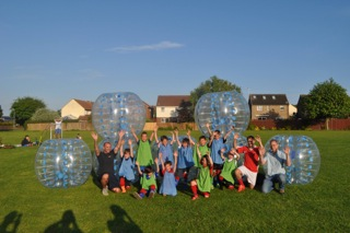 group zorb outside