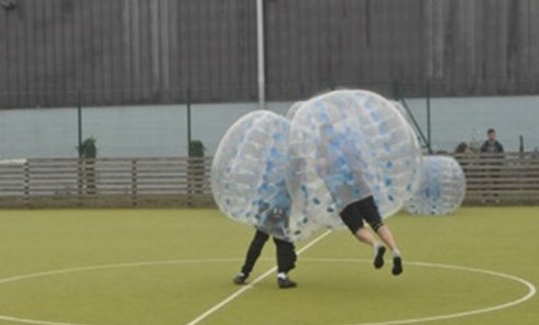 bubble zorb fitness