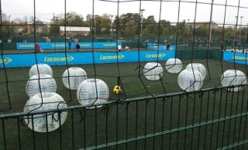 bubble zorb football