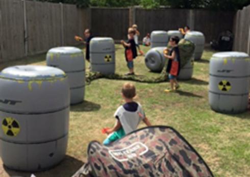 nerf barrels