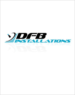 DFM Installations logo design by Toolkit Websites, Southampton