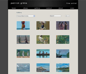 online photo gallery design toolkit support