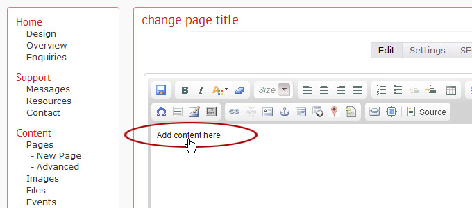 how to add changes pages