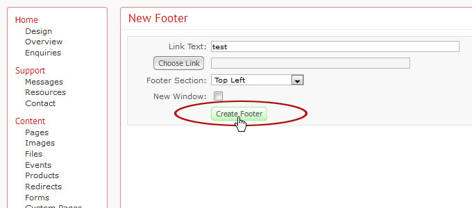 how to add image to footer in wordpress