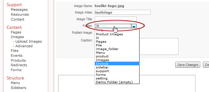 how to change the image of a folder mac