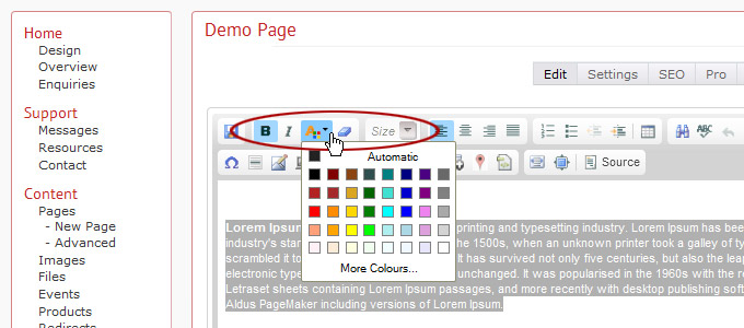 tkinter how to change font color of buttons