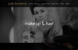 Julie Kendrick - website design by Toolkit Websites, professional web designers