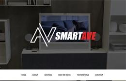 Smartave Ltd - Audio Visual website design by Toolkit Websites, Southampton