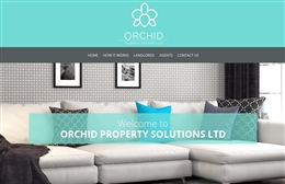 Orchid Property Solutions - Property web design by Toolkit Websites, Southampton