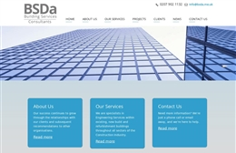 BSDa - Building services website design by Toolkit Websites, Southampton