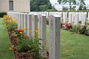 Commonwealth War Graves Commission Cemetery at Bayeux, France