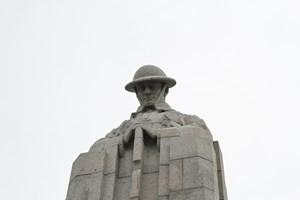 St Julien Canadian Memorial at Vancouver Corner