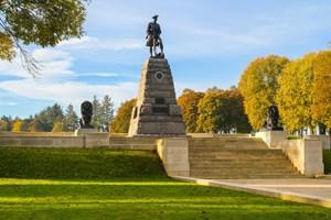51st (Highland) Division Memorial at the Newfoundland Memorial Park