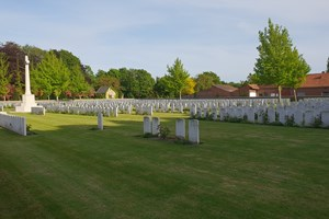 Menin Road South Cemetery Ypres