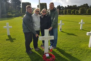 Normandy American Cemetery 6th June