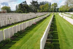 Lijssenthoek Cemetery near Poperinge