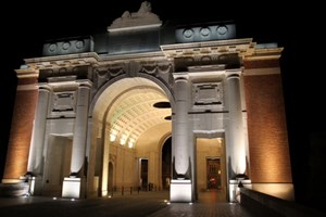 The Menin Gate. Memorial to nearly 55,000 British and Commonwealth soldiers who were killed fighting in the Ypres Salient and have no known grave