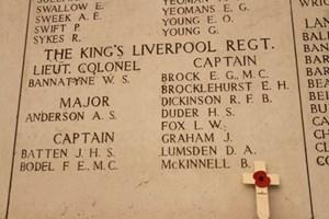 The Menin Gate Memorial at Ypres
