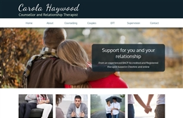 Inner Strength - Counselling website design by Toolkit Websites, Southampton