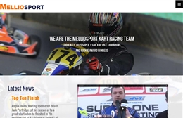 Melliosport  - Automotive website design by Toolkit Websites, Southampton