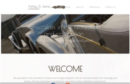 Vintagecars Ltd  - Automotive website design by Toolkit Websites, expert web designers