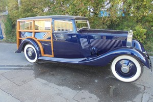 Rolls Royce Woody recently completed in our workshops