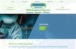 MMMB Engineering - Engineering website design by Toolkit Websites, Southampton