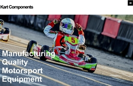 Kart Components Manufacturing Ltd - Automotive website design by Toolkit Websites, expert web designers