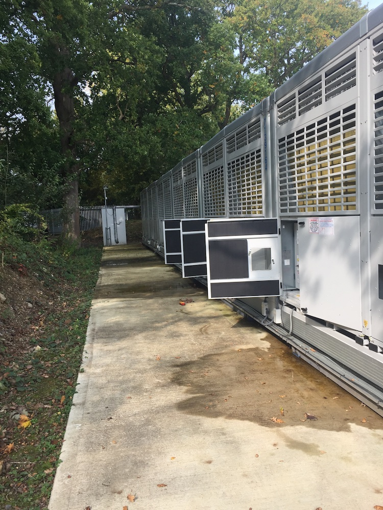 Condensers and compressor sets on Hubbard Sigma