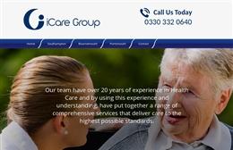 I-Care Southampton website design case study