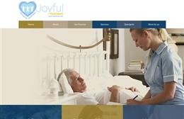 Joyful Outreach - Care agency website design by Toolkit Websites, Southampton